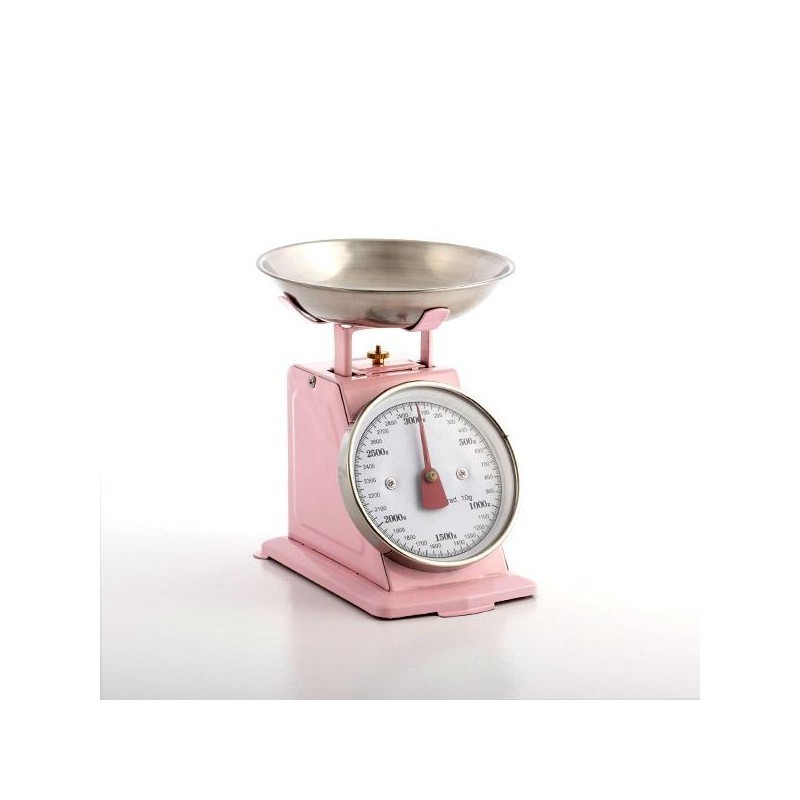 Ordinaire Pink Kitchen Scale Creepingthyme Info