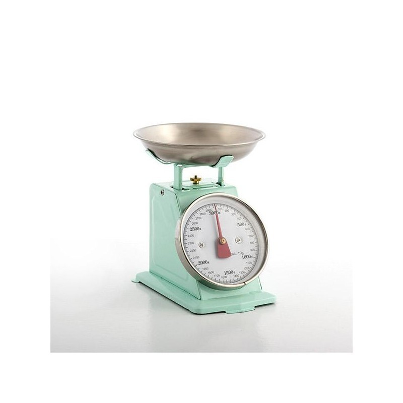 Retro Kitchen Scales Pink