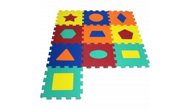 10 elementów Puzzle piankowe Kształty