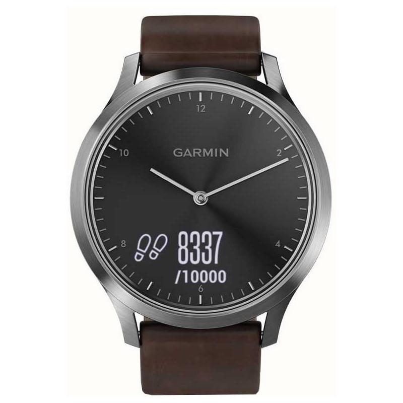 Garmin Vivomove HR Premium L, hõbedane