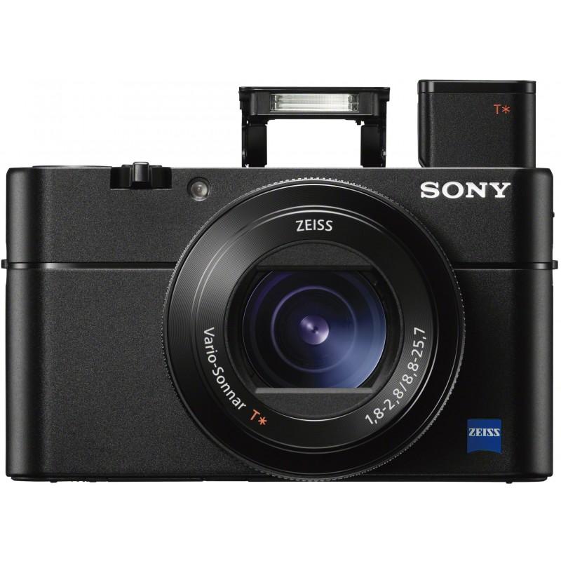 Sony DSC-RX100 V + vutlar ja 32GB SDHC mälukaart