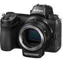 Nikon Z6 kere + objektiivi adaper FTZ
