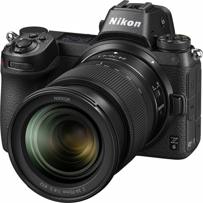 Nikon Z6 + 24-70mm f/4 S + objektiivi adaper FTZ Kit