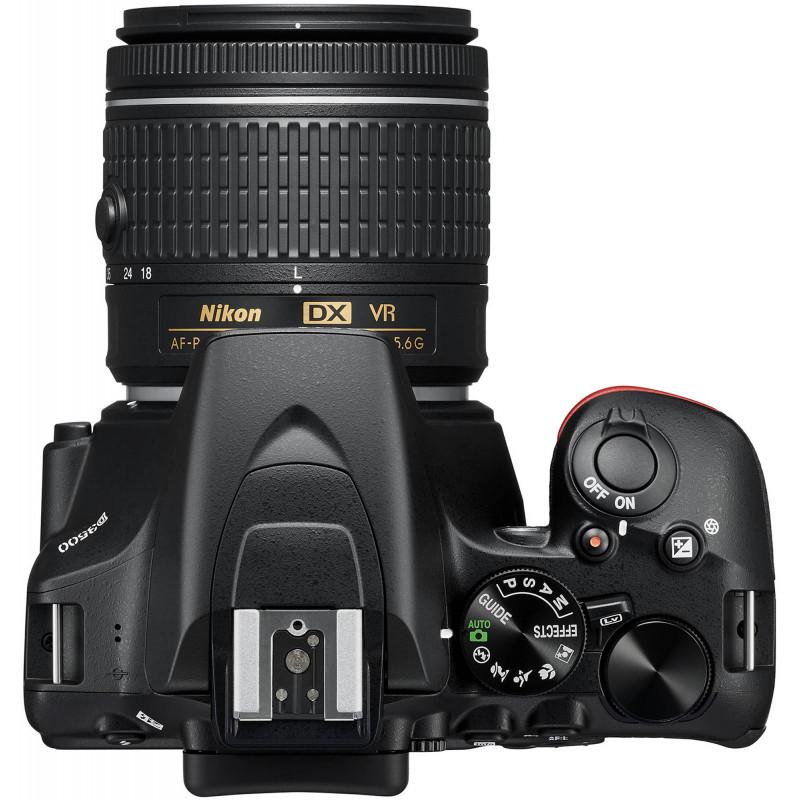 Nikon D3500 + 18-55mm AF-P + 70-300mm VR Kit, must