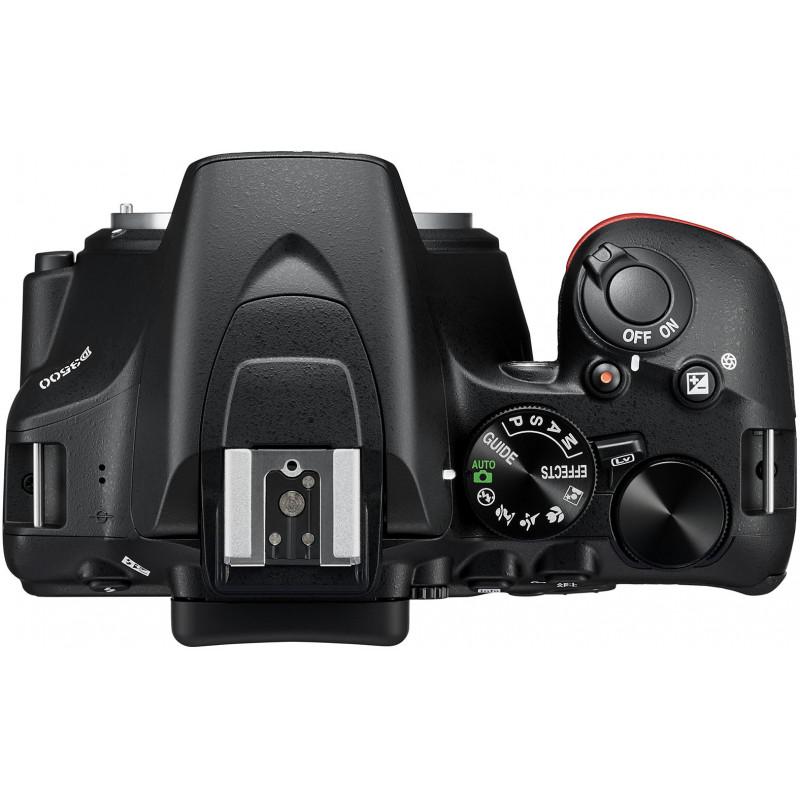 Nikon D3500 + 18-140mm AF-S VR Kit, must