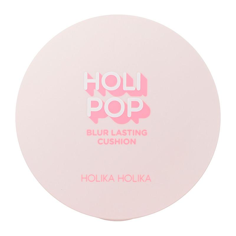 Holika Holika Jumestuspõhi Holi Pop Blur Lasting Cushion 02 Pink Blur