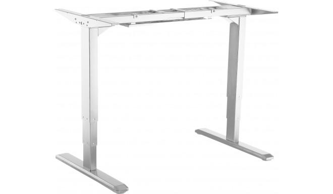 Platinet elektriski regulējams galda rāmis Electric Desk PED23RW, balts