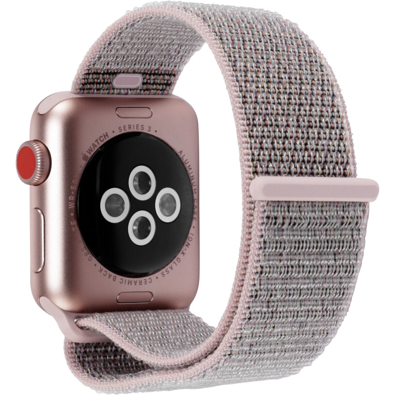 Apple Watch 3 Gps Cell 38mm Gold Alu Case Pink Sd Sport Loop