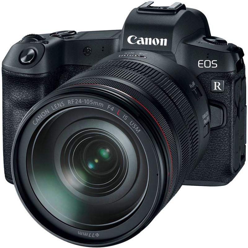 Canon EOS R + adapter EF-EOS-R + RF 24-105mm f/4L IS USM