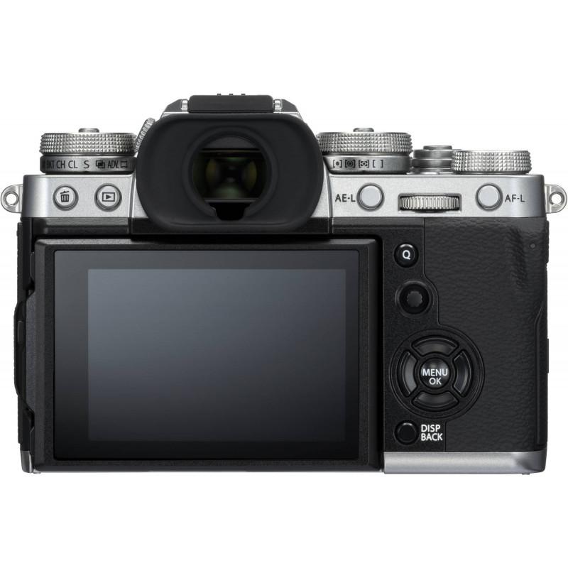 Fujifilm X-T3 + 18-55mm Kit, hõbedane
