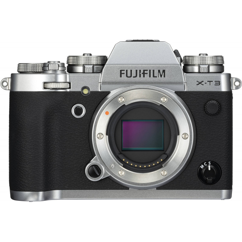 Fujifilm X-T3 kere, hõbedane