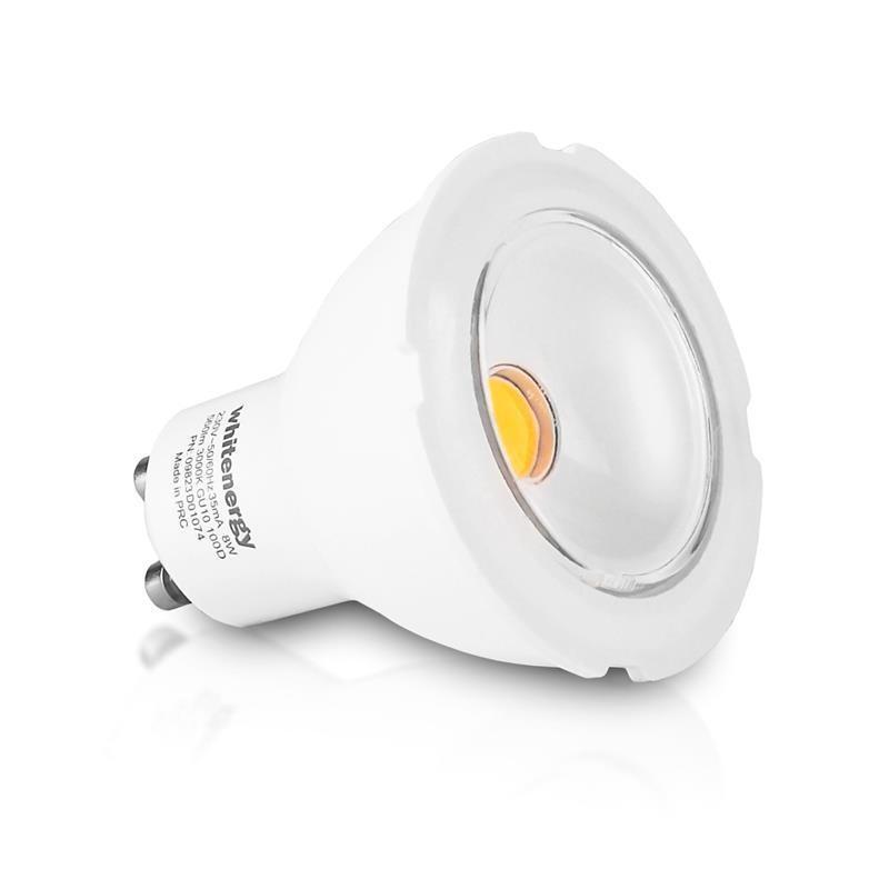 Whitenergy LED bulb   GU10   COB   8W   230V