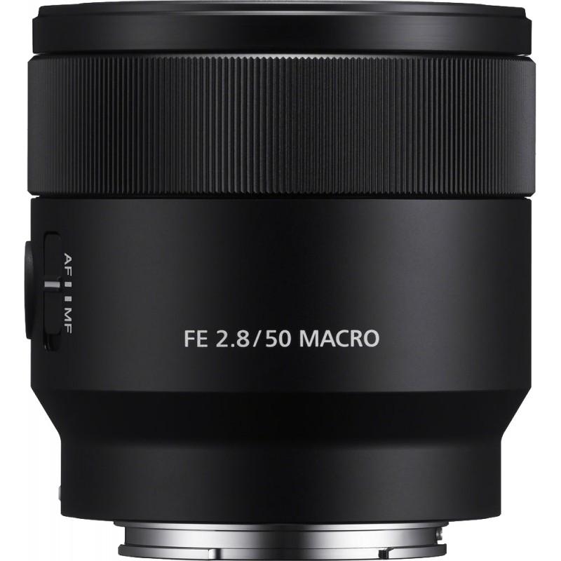 Sony FE 50mm f/2.8 objektiiv