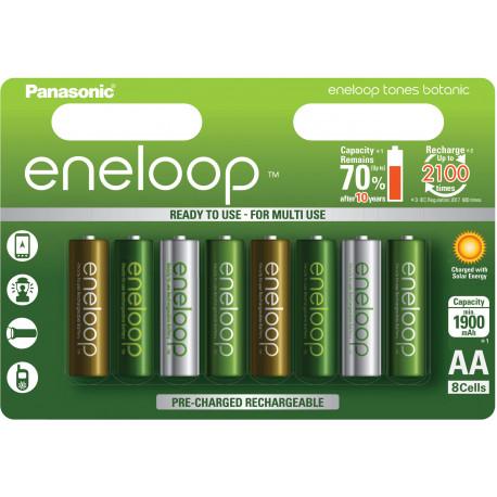 Panasonic eneloop aku AA 1900 8TE Botanic