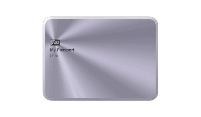 HDD External WD My Passport Ultra (3TB, USB 3 0) Silver