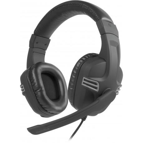 Speedlink austiņas + mikrofons Versico, melnas/pelēkas (SL-870001-BKGY-01)