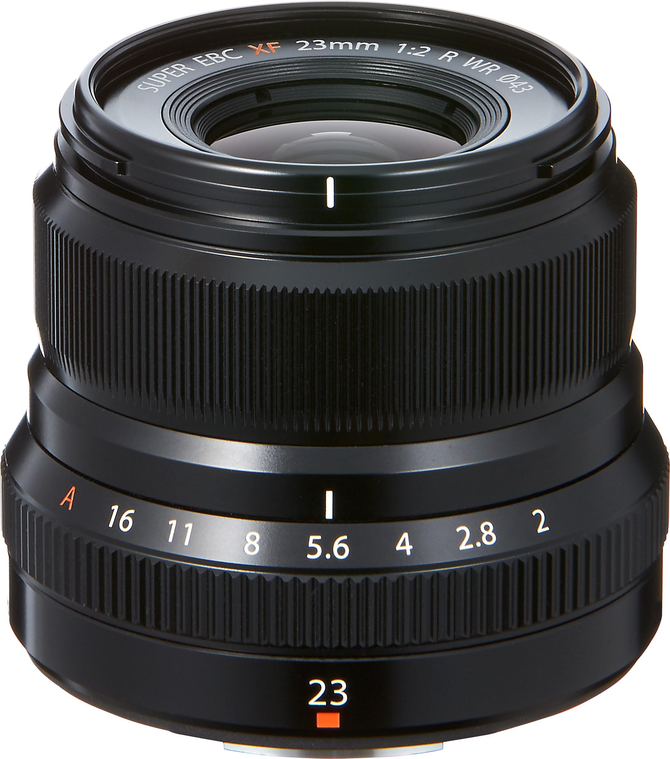 Fujinon XF 23mm f/2.0 R WR objektiiv, mu..