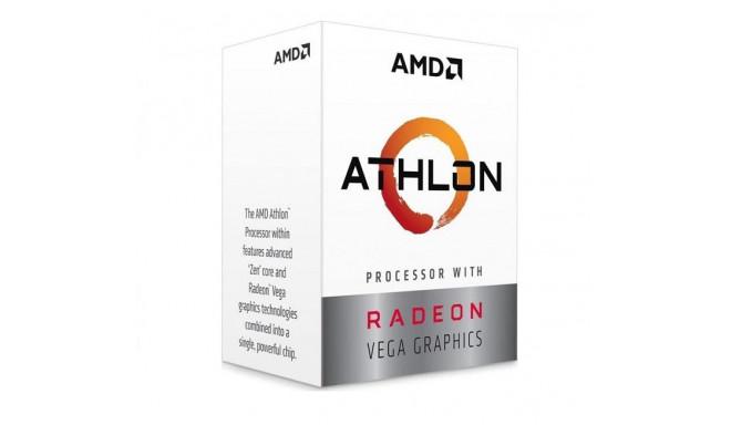 AMD protsessor Athlon 200GE Raven Ridge 3200MHz Cores 2 4MB SAM4 35W GPU Radeon Vega 3 Box