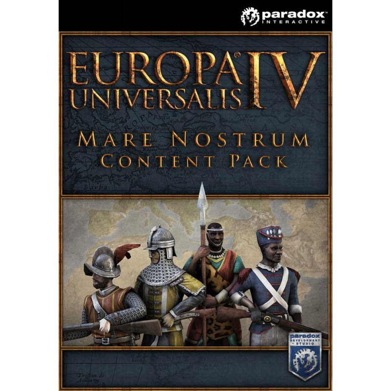 Game PC Europa Universalis IV - Mare Nostrum Content Pack (Digital, DLC