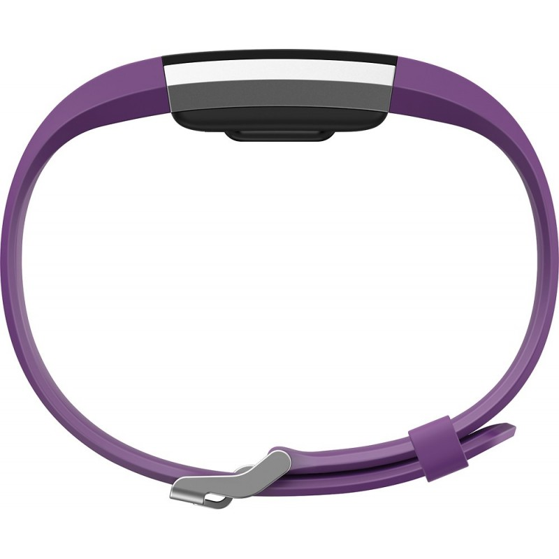 Fitbit activity tracker Charge 2 L, plum/silver