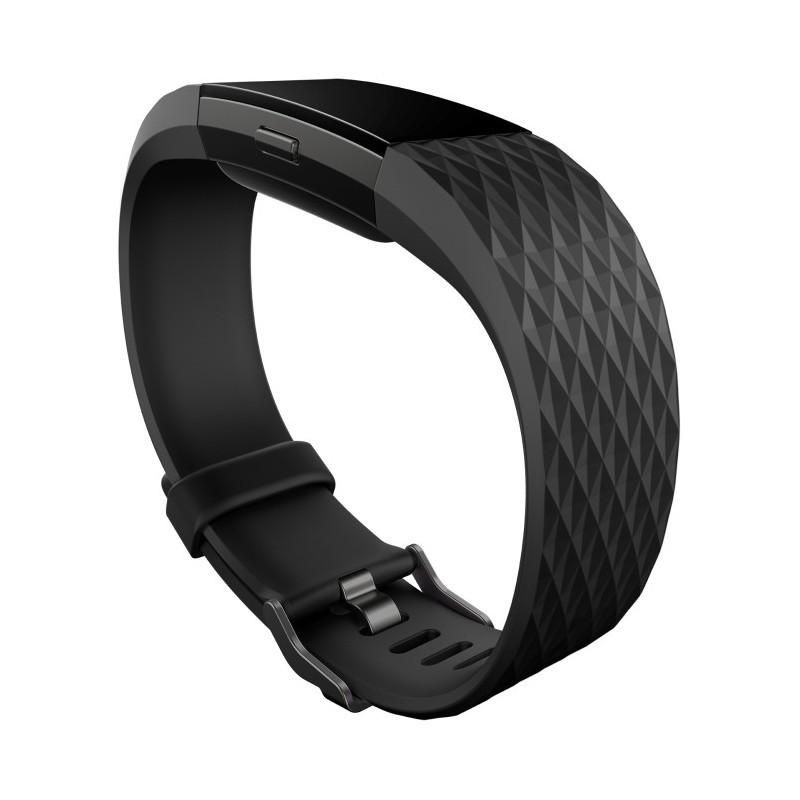 Fitbit aktiivsusmonitor Charge 2 S, must/gunmetal