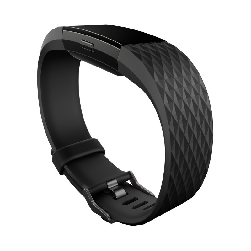 Fitbit activity tracker Charge 2 S, black/gunmetal