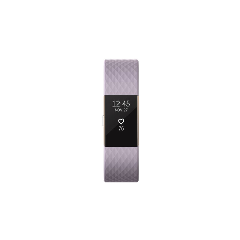 Fitbit aktiivsusmonitor Charge 2 S, lavendel/rose gold