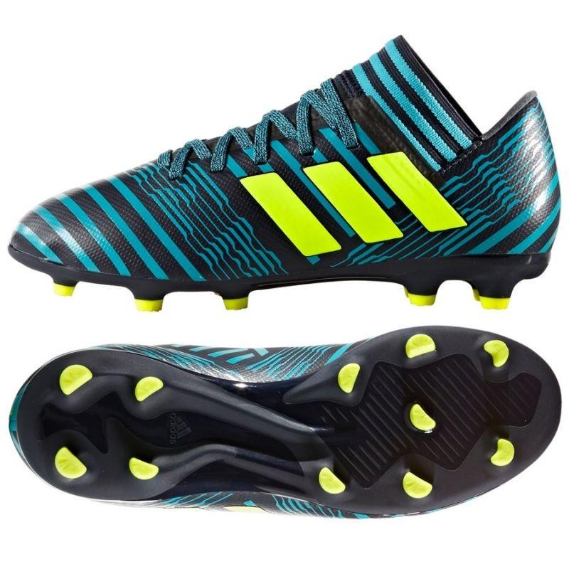 cheap for discount e04c2 f53aa Kids football shoes adidas Nemeziz 17.3 FG  Jr S82427 ... 26accfebb5