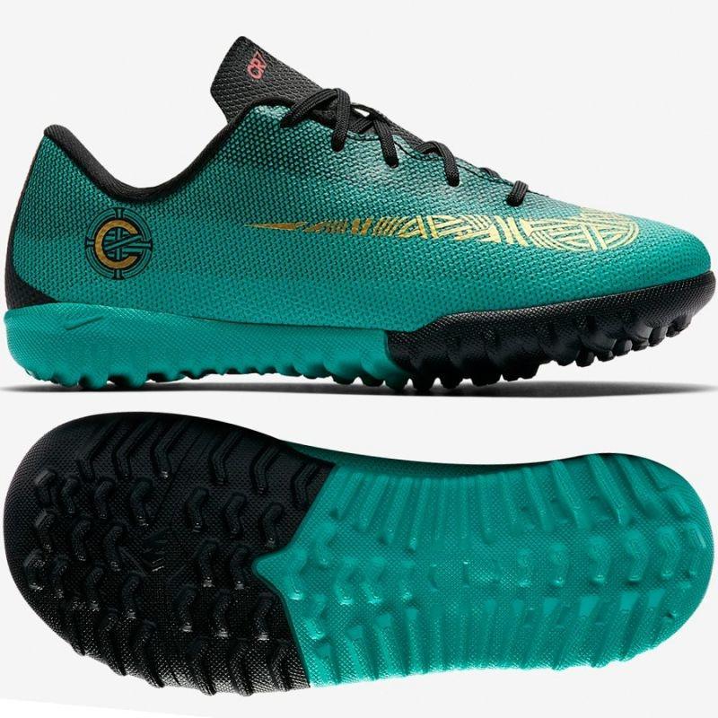 61dcdcc2 Kids football shoes Nike Mercurial Vaporx 12 Academy PS CR7 TF Jr AJ3104-390