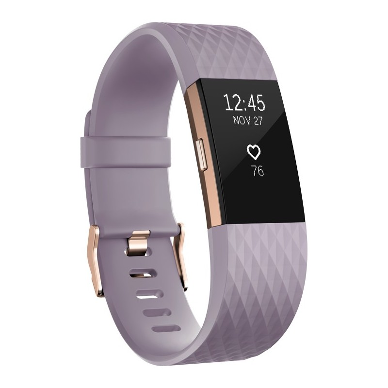 Fitbit aktiivsusmonitor Charge 2 L, lavendel/rose gold