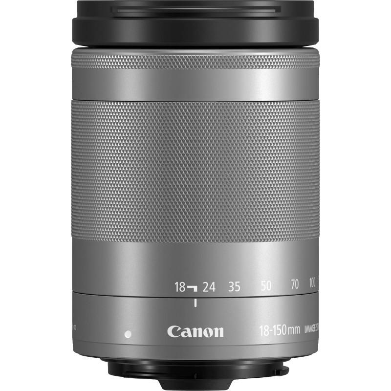 Canon EF-M 18-150mm f/3.5-6.3 IS STM objektiiv, hõbedane