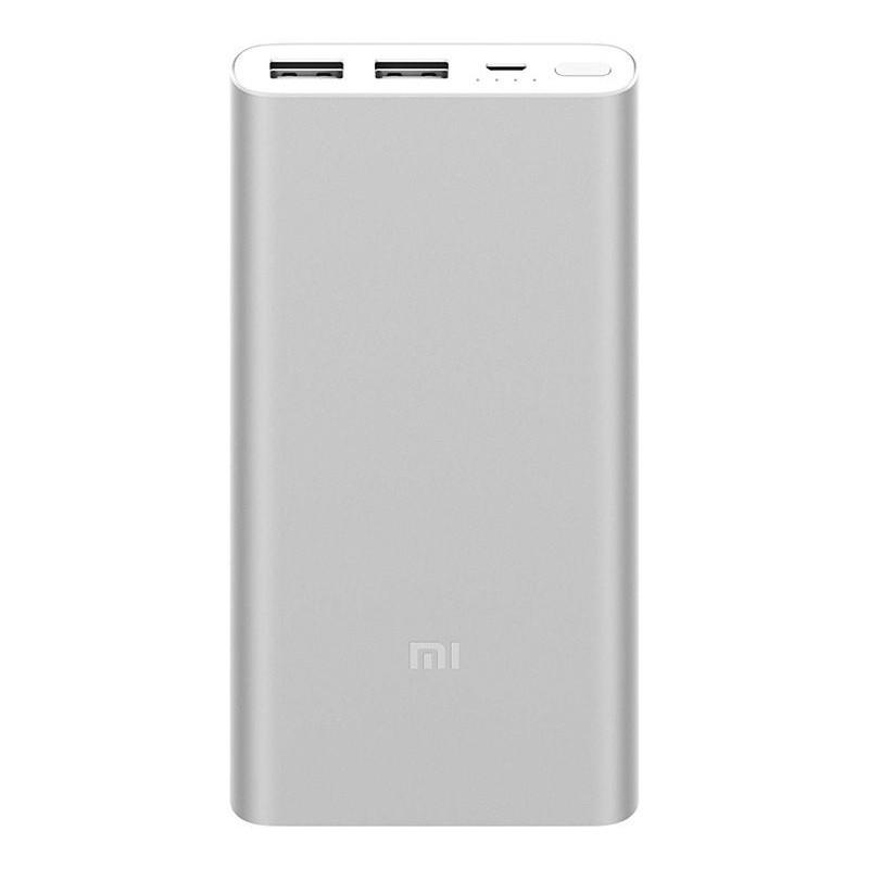 Xiaomi Mi akupank 2S 2.4A 2xUSB 10000mAh, hõbedane