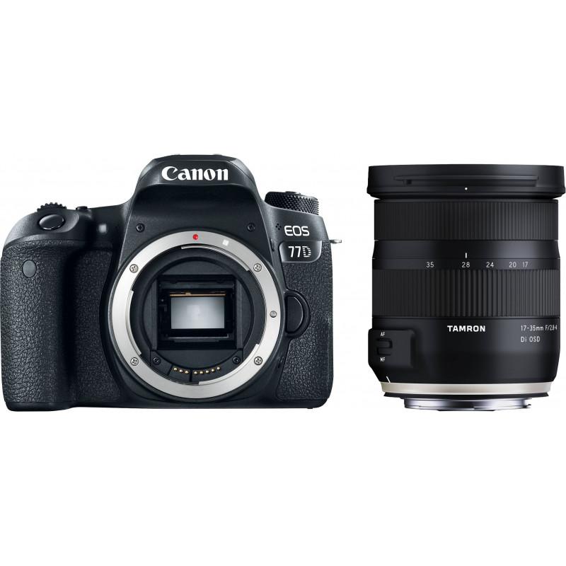 Canon EOS 77D + Tamron 17-35mm OSD