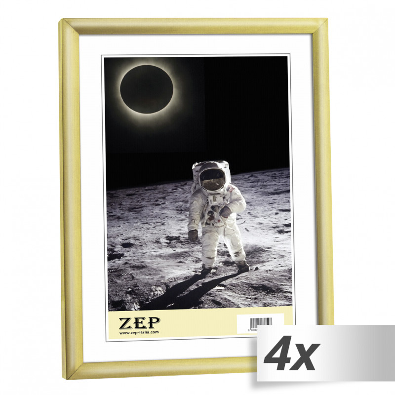 4x1 ZEP New Easy gold 21x29,7 DIN A4 Plastic Frame KG11 - Photo ...