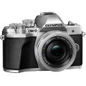 Olympus OM-D E-M10 Mark III + 14-42mm + 40-150mm Kit, silver