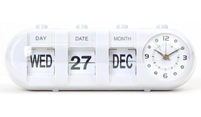 Platinet modinātājpulkstenis January, balts (43627)