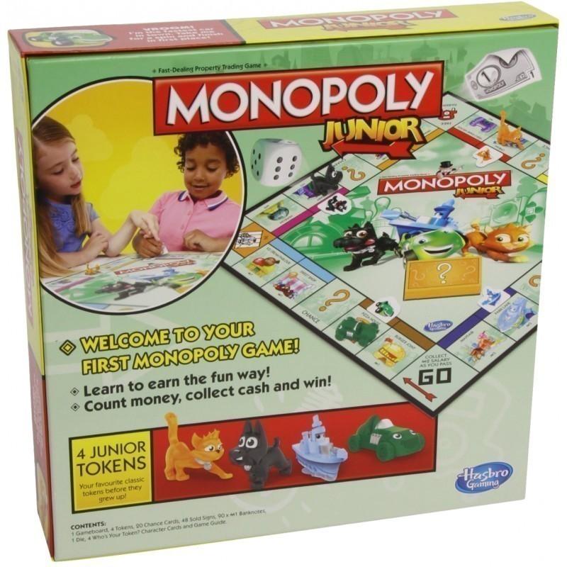 573bc45553c Hasbro lauamäng Monopoly Junior EST - Lauamängud - Photopoint