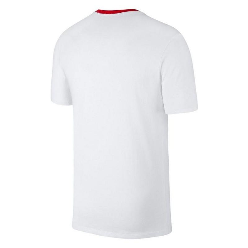 004f23a78 T-shirt Nike Polska (white color) - T-shirts - Photopoint