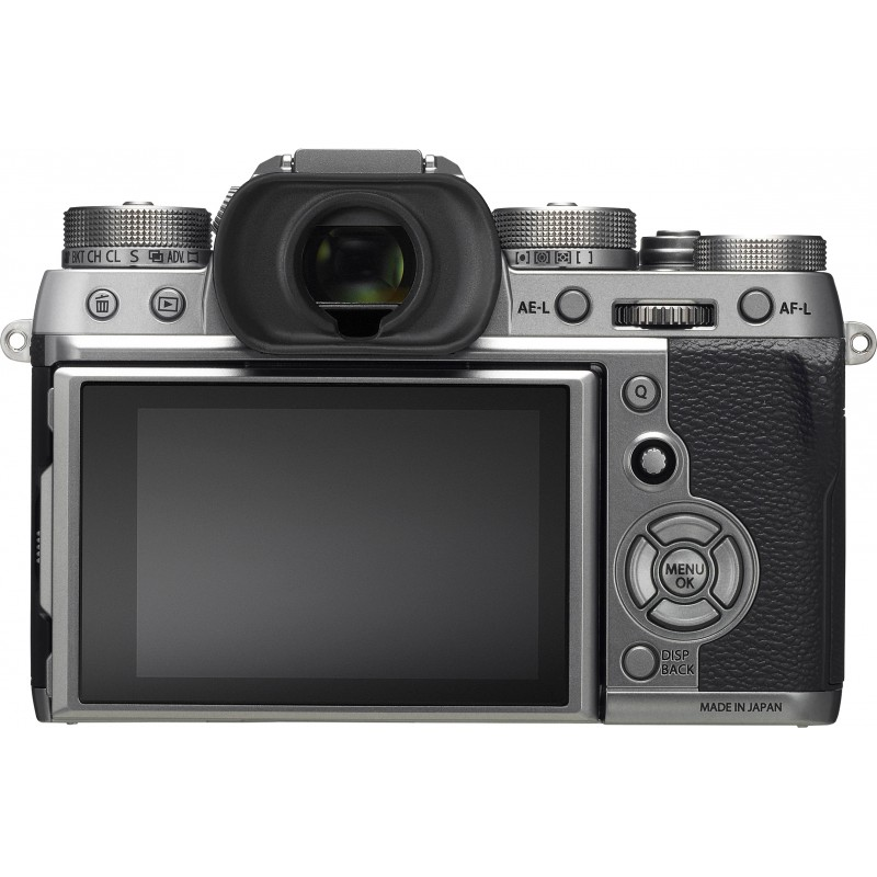 Fujifilm X-T2 body, Graphite Silver Edition