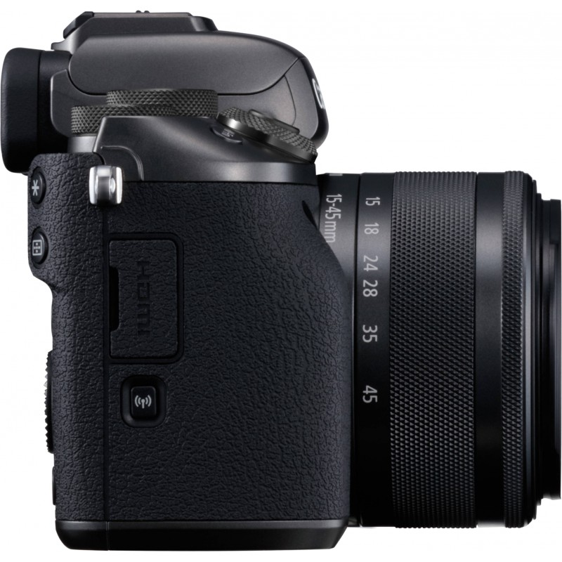 Canon EOS M5 + 15-45 IS STM, must