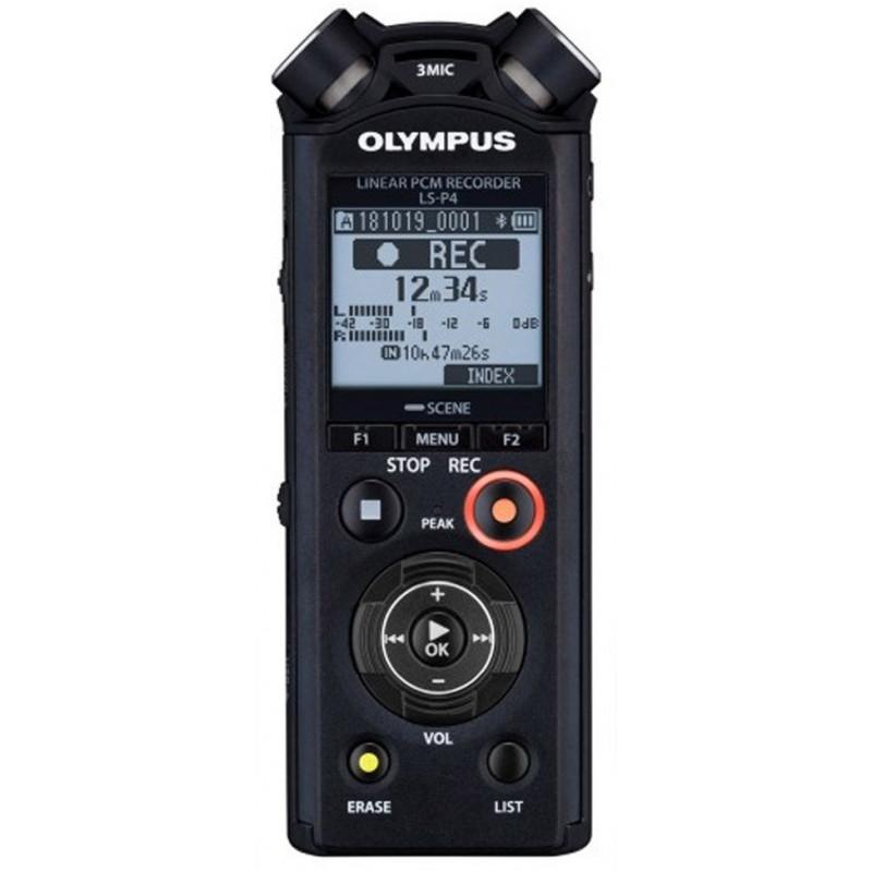 Olympus diktofon LS-P4 Linear PCM, must