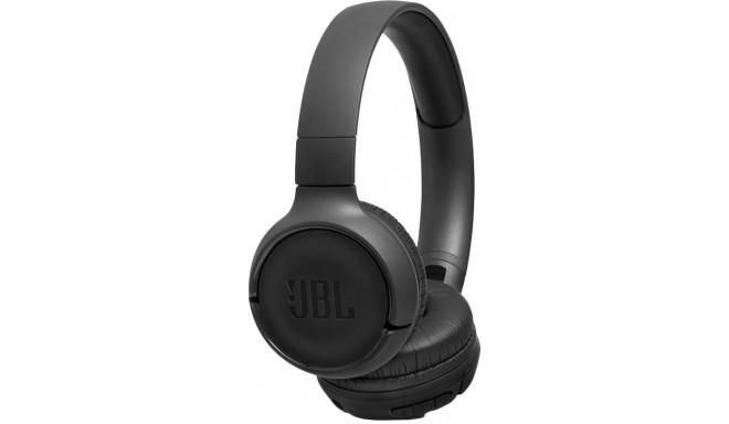 JBL juhtmevabad kõrvaklapid + mikrofon Tune 500BT, must