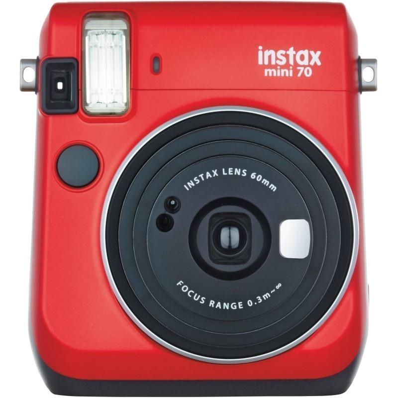 Fujifilm Instax Mini 70, punane