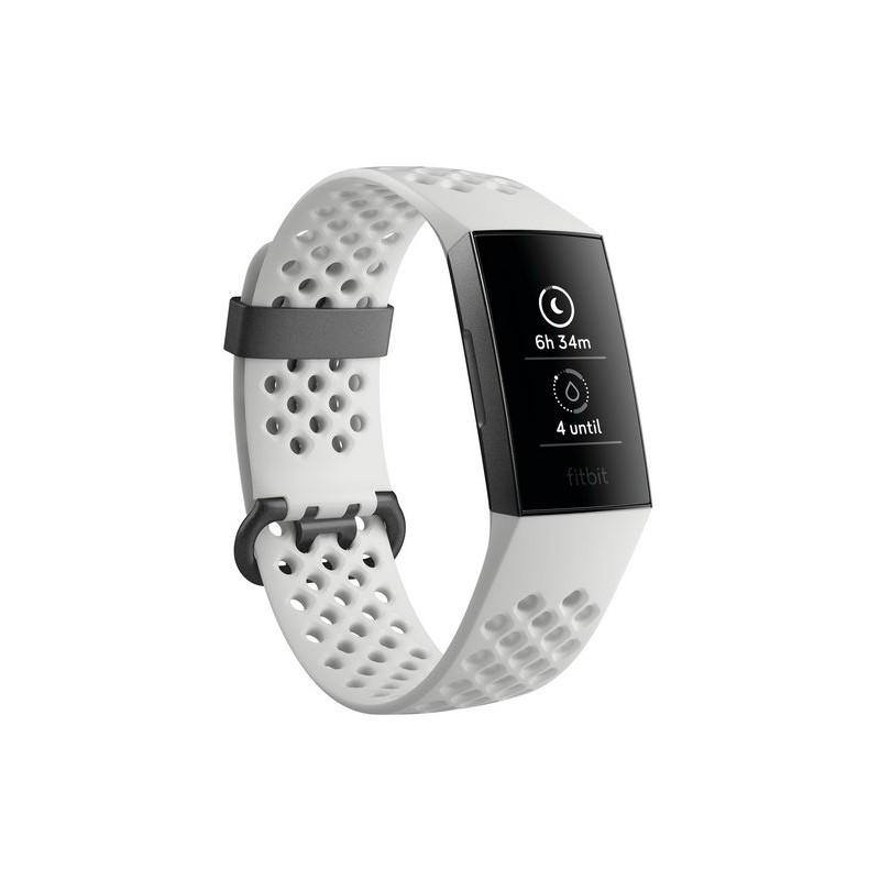 Fitbit aktiivsusmonitor Charge 3, grafiit/valge