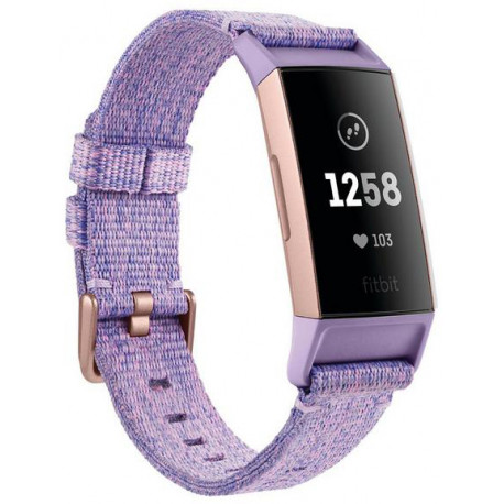 553df95e1e8 Fitbit activity tracker Charge 3 Special Edition, lavender/rose gold