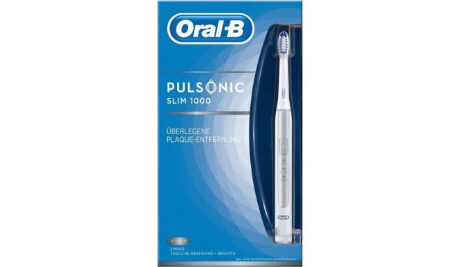 Braun Oral-B Pulsonic Slim 1000 - silver