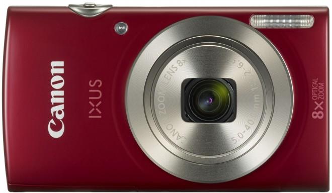 Canon Digital Ixus 185, красный