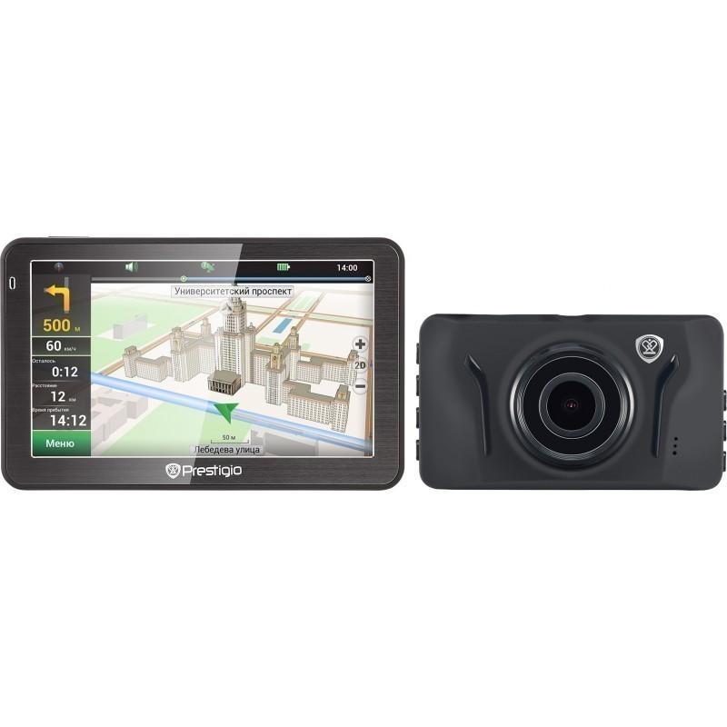 Prestigio GeoVision 5058 GPS + car DVR RoadRunner 525 + 32GB memory card