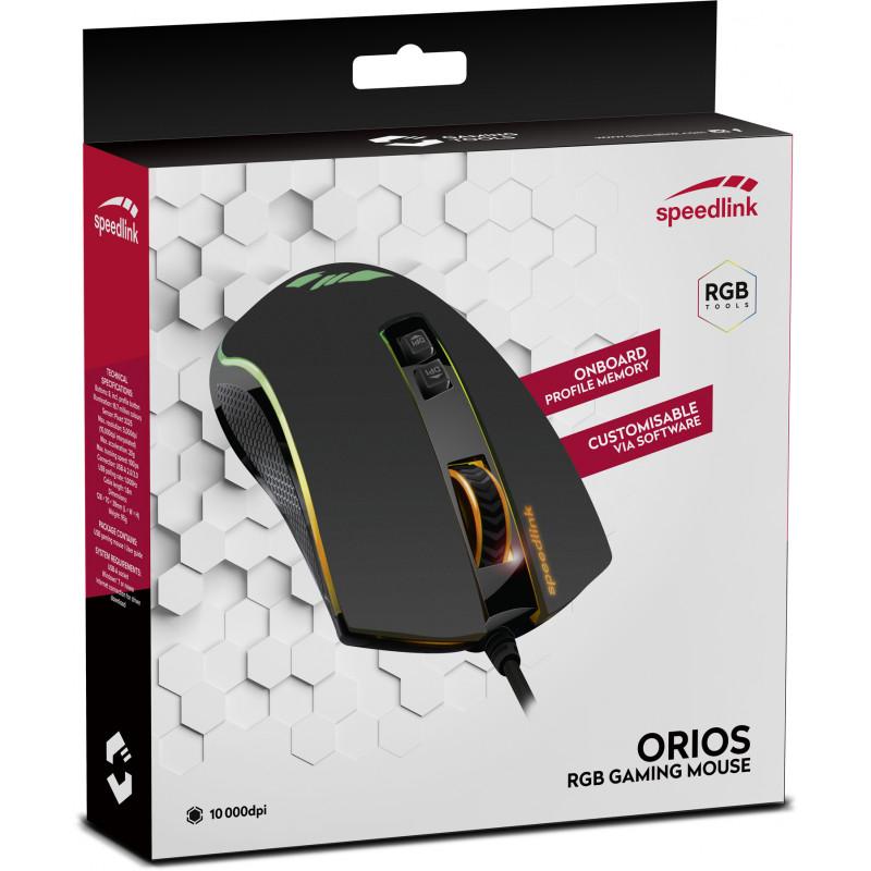 Speedlink hiir Orios RGB (SL-680010-BK)