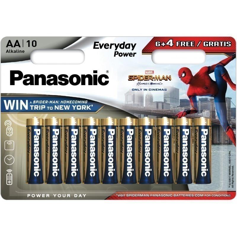 Panasonic Everyday Power battery LR6EPS/10BW (6+4) S-M